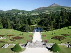 Powerscourt Gardens and House(Powerscourt Bahçeleri ve Evi)