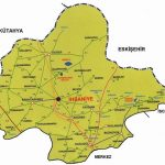 İhsaniye Nerede Haritası
