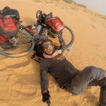 Gezgin Hasan, Ünlü Sahra Çölünü 42 Günde Bisikletiyle Yedi Bitirdi