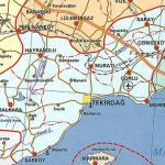 Marmara Ereğlisi Haritası