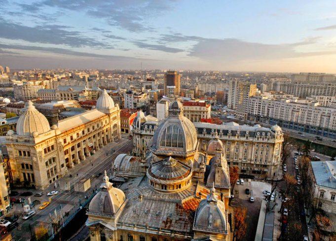 Romanya'nın başkenti, şehirleri ve bölgeleri