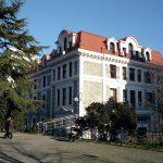 Güney Kampüs'te yer alan İktisadi ve İdari Bilimler Fakültesi. Güney Kampüs, Boğaziçi'nin ana kampüsüdür.