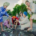 Litvanya'da Yol Çukuru İsyanından İlginç Görüntüler
