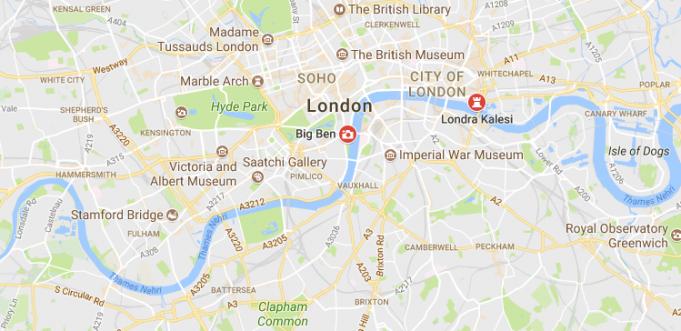 İngiltere Başkenti, Şehirleri ve Bölgeleri