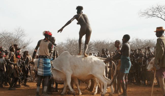 Etiyopyalı Gençlerin Çılgın Evlenme Gelenekleri