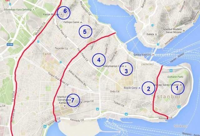 Yedi Tepeli Şehir İstanbul'un Bu 7 Tepesi Hangileri