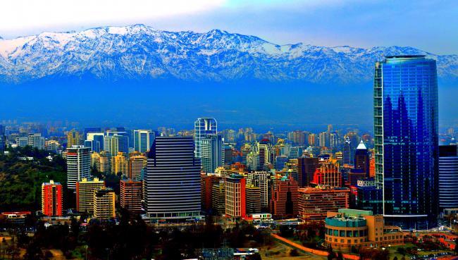 Şili'nin başkenti, şehirleri ve bölgeleri