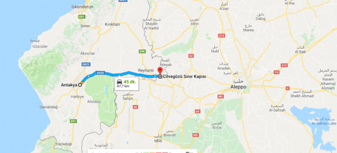 Suriye'nin başkenti, şehirleri ve bölgeleri