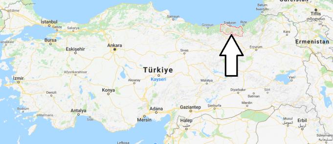 Trabzon Nerede