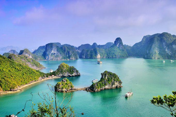 Vietnam Başkenti, Şehirleri ve Bölgeleri