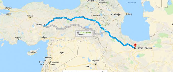 İran Nerededir