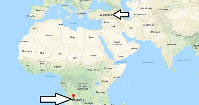 Angola Nerededir
