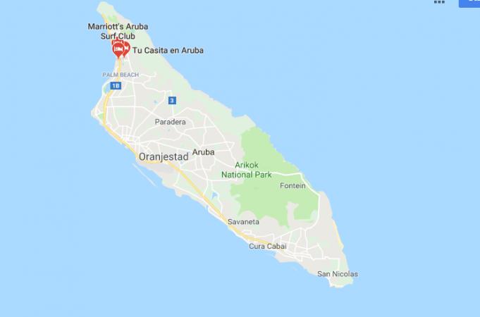 Aruba Nerede, Nasıl Gidilir?