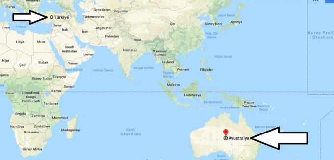 Avustralya Nerede