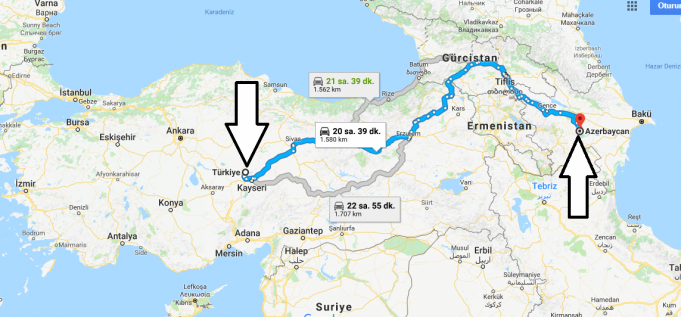 Azerbaycan Nerede