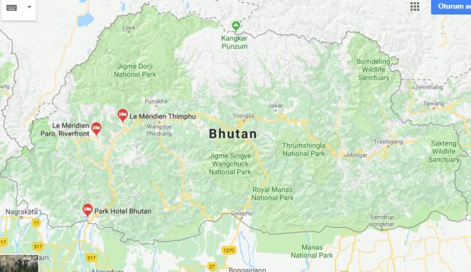 Bhutan Nerede, Nasıl Gidilir