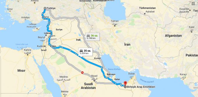 Birleşik Arap Emirlikleri Nerede