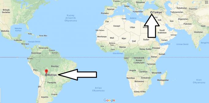Bolivya Nerededir