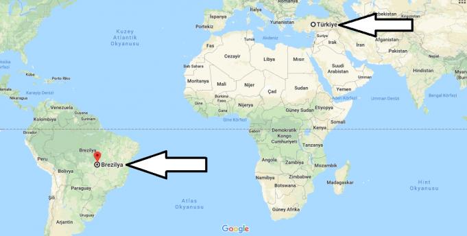 Brezilya Nerede