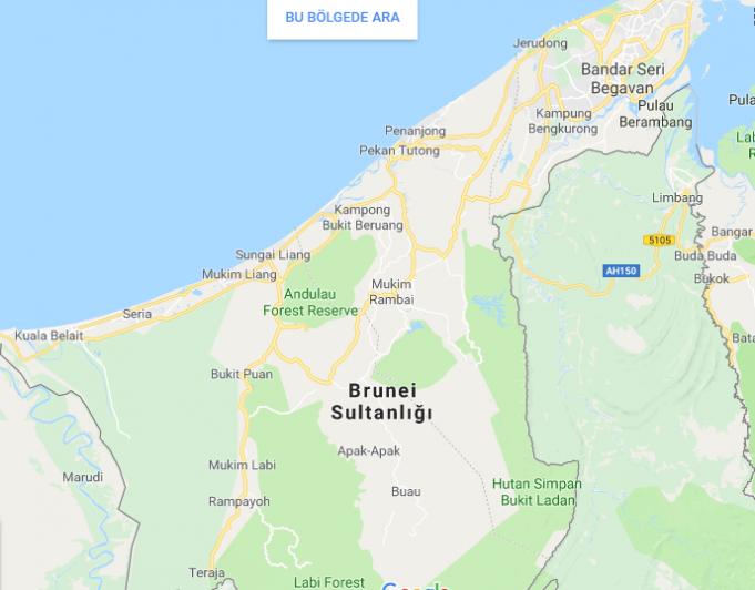 Brunei Nerede, Nasıl Gidilir
