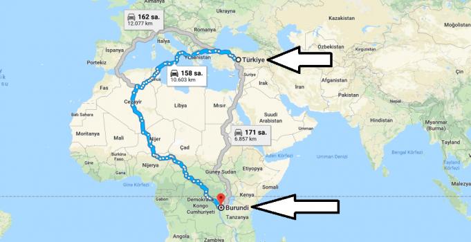 Burundi Nerede