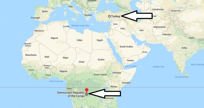 Demokratik Kongo Cumhuriyeti Nerededir