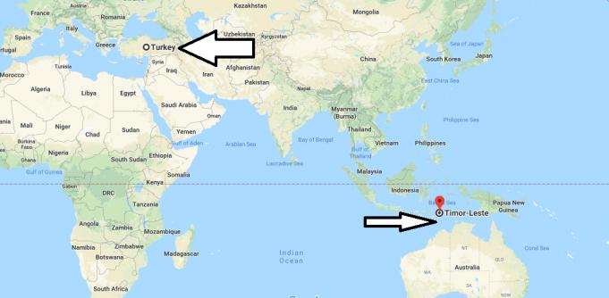 Doğu Timor Nerededir