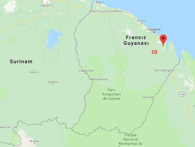 Fransız Guyanası Nerede, Nasıl Gidilir