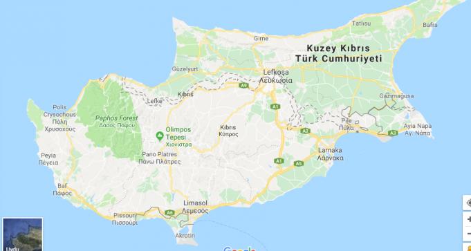 Güney Kıbrıs Nerede, Nasıl Gidilir?