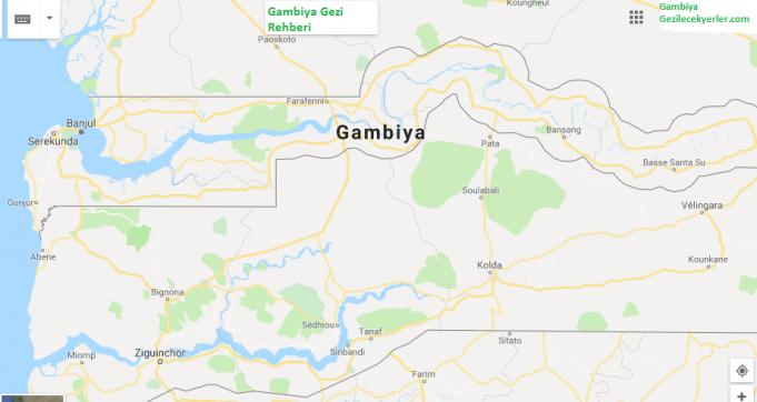 Gambiya Nerede, Nasıl Gidilir?