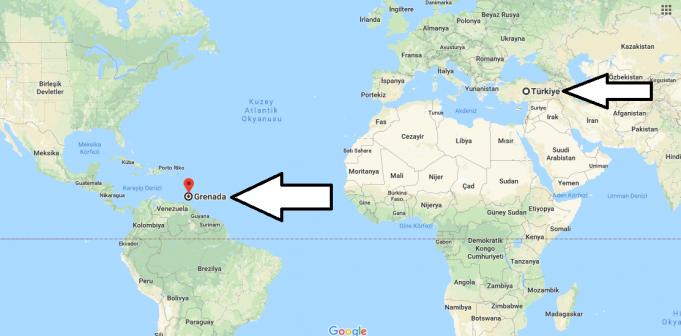 Grenada Nerededir
