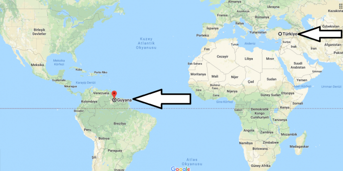 Guyana Nerededir