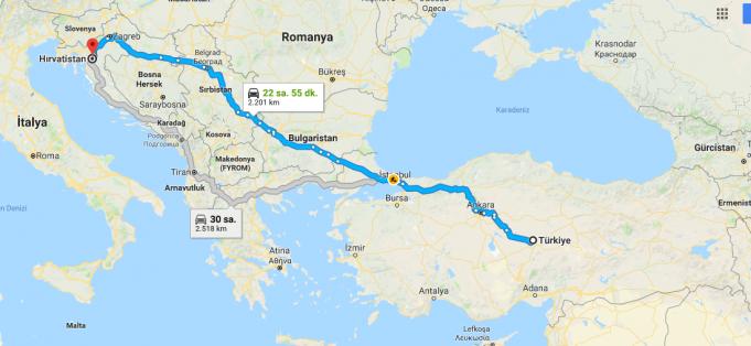 Hırvatistan Nerededir