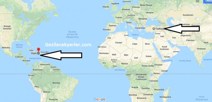Haiti nerededir