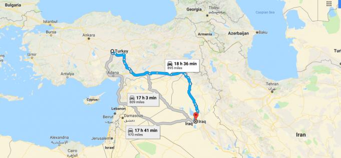 Irak Nerededir