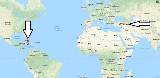 Jamaika Nerededir