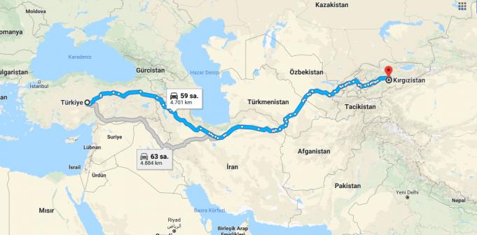 Kırgızistan Nerededir