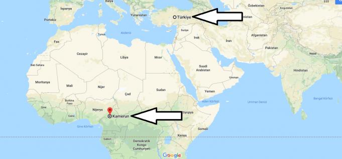 Kamerun Nerededir