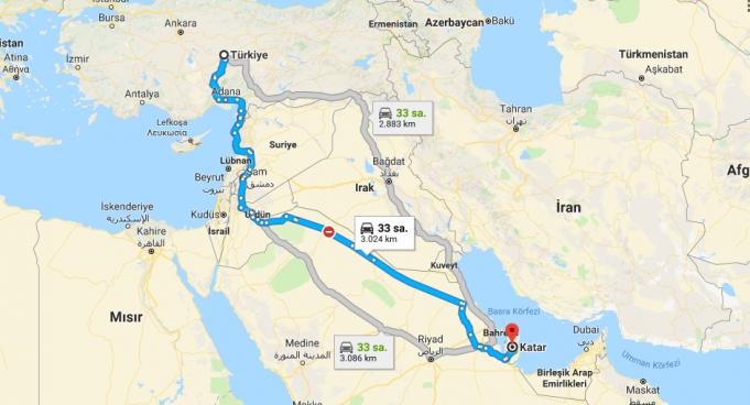 Katar Nerededir
