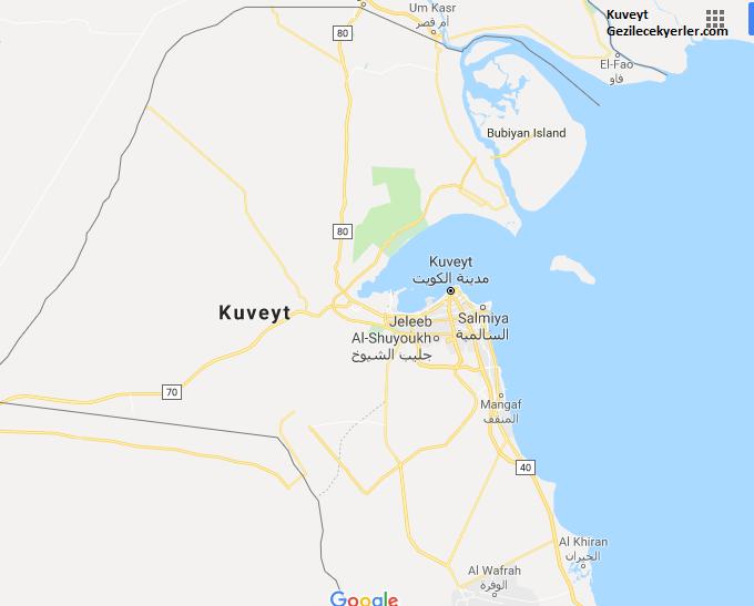 Kuveyt Nerede, Nasıl Gidilir?