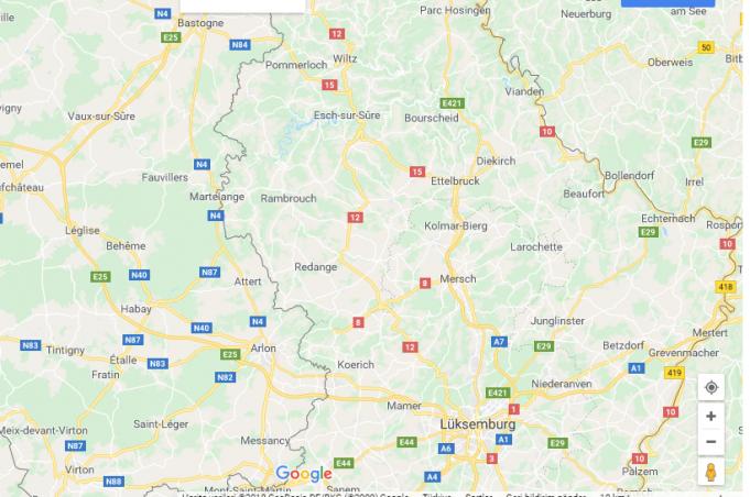 Lüksemburg Nerede, Nasıl Gidilir?