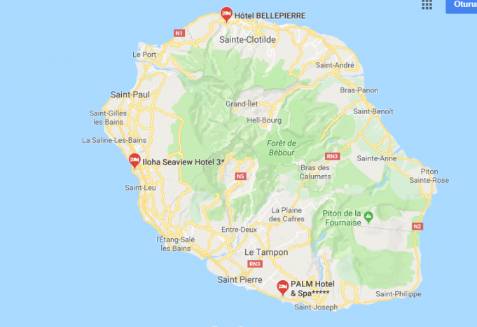 Réunion Nerede, Nasıl Gidilir