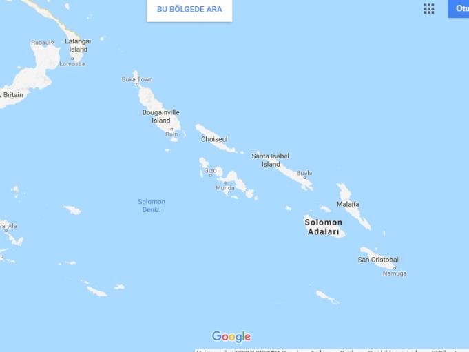 Solomon Adaları Nerede, Nasıl Gidilir?
