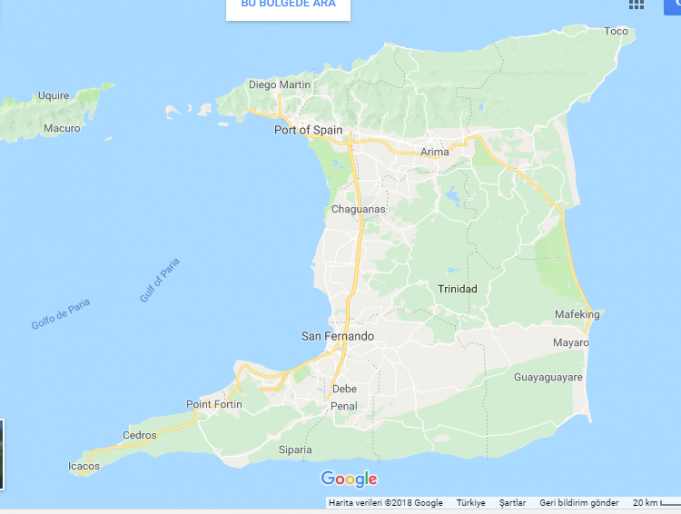 Trinidad ve Tobago Nerede, Nasıl Gidilir