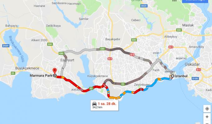 Marmara Park AVM Nerede, Nasıl GidilirMarmara Park AVM Nerede, Nasıl Gidilir?