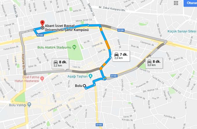 Abant İzzet Baysal Üniversitesi Nerede, Nasıl Gidilir ve Hangi Şehirde?
