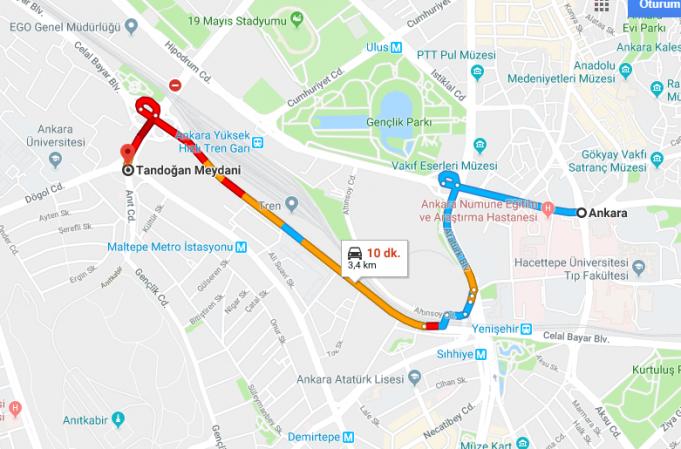Ankara Tandoğan Meydanı Nerede, Nasıl Gidilir?