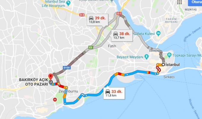 Bakırköy Pazarı Nerede, Nasıl Gidilir?