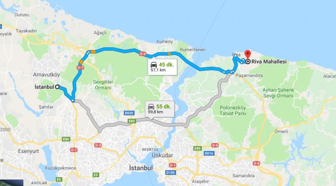 Beykoz Riva Nerede, Nasıl Gidilir?