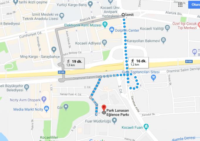 Park Lunasan Nerede, Nasıl Gidilir?